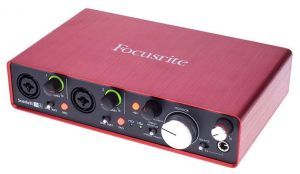 INTERFACE de audio FOCUSRITE